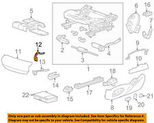 Cadillac GM OEM 14-16 CTS Seat Track-Front Cover Bracket Right 13588088