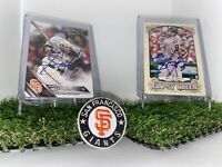 Brandon Belt Autograph Cards San Francisco Giants Signed Gypsy Queen & 16'Topps