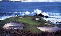 THE SEVENTH AT PEBBLE BEACH by Larry Dyke