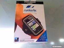 NUOVO: RUNTASTIC runarm 1 Bracciale Sport Per iPhone 4/5, Galaxy s3/4, Nokia, HTC, LG