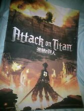 Attack On Titan Large Wall Hanging 30 X 43 Anime Collectible Art New