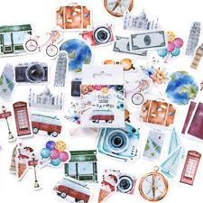 Cn _45pcs / Menge Reisen Thema Papier Aufkleber Tagebuch Dekor Diy Scrapbooking