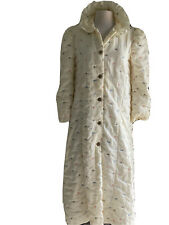 Woman Vintage Robe Size Small / M quilted