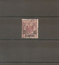 TIMBRE ALLEMAGNE DEUTSCHE KOLONIE GERMAN LEVANT N°10 OBLITERE USED