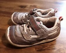 STRIDE RITE Mosby Boys Sz 7m brown  Leather Shoes FAST SHIP😎GUC 😊