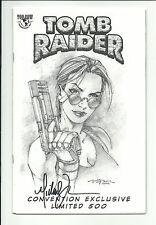 TOMB RAIDER #20 - Jay Company Pittsburgh Comic Con 2002 sketch variant - NM
