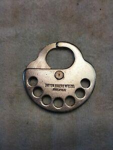 Vintage Dayton Rogers MFG Co. Minneapolis Multi Lock. 7 hole Lockout Hasp.