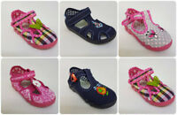 Baby Girl & Boy Canvas Shoes Slippers Casual Trainers Sandals Baby Kids Toddler