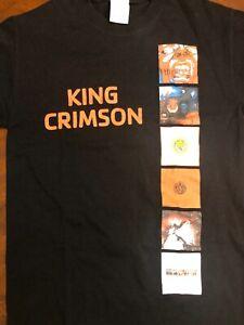 King Crimson Famous Album Cover T Shirt Men's  Small Black T Shirt