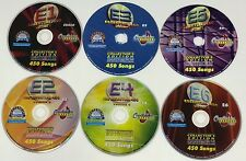 CHARTBUSTER KARAOKE ESSENTIAL 450 VOLUMES 1-6 ES450 COLLECTOR'S EDITION NEO+G
