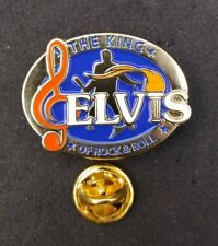 UK ELVIS PRESLEY PIN THE KING OF ROCK & ROLL #3