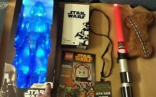 Sdcc 2015 Star Wars Lightsaber, Concert Badge, Stormtrooper, Darth Vader, Ect
