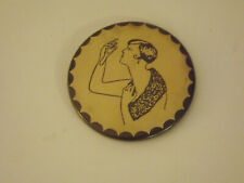Vintage Risque Pocket Mirror Hidden Image