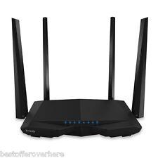 Original Tenda AC6 1200Mbps Wireless Router 5dBi 4 External Antennas 4 LAN ports