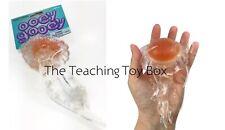 Orange Squishy Jellyfish Sensory Tactile Squeeze Fidget Toy Stress Relief Toy