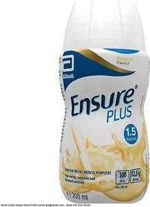 12 x Ensure Plus Banana Milkshake Style 200ml (12 x 200ml) - NEW