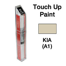 KIA OEM Brush&Pen Touch Up Paint Color Code : A1 - Vanilla Shake