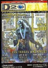 D20  MAGAZINE N°15 JDR DD3 SEIGNEUR DES ANNEAUX