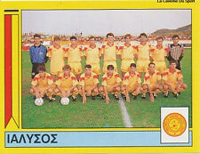 N°354 TEAM IALYSSOS RODOS GREECE PANINI GREEK LEAGUE FOOT 95 STICKER 1995
