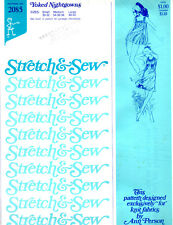 Vintage Stretch & Sew by Ann Person Pattern # 2085 Yoked Nightgowns  Sizes S M L