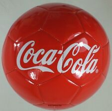 "Coca Cola Coke  8"" RED SOCCER BALL from the 2013 Swelter Stopper Tour  NEW!"