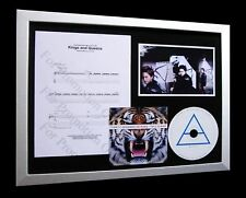 30 SECONDS TO MARS Kings & Queens LTD CD FRAMED DISPLAY
