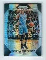 2017-18 Panini Prizm Russell Westbrook Silver Hyper Prizm Card, RARE, Thunder!