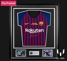 Barcelona 2018-2019 Lionel Messi Signed Soccer Jersey