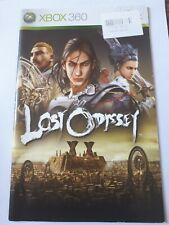 Lost Odyssey Xbox 360 instruction manual booklet only instructions