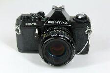 #C03 ~ Pentax MV1 35mm SLR camera with SMC Pentax-A 1.7 50mm lens