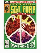 Sgt. Fury #161 - The Peacemonger!