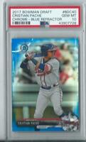 2017 Bowman Draft Chrome Cristian Pache RC  BLUE  REFRACTOR /150 PSA 10 GEM