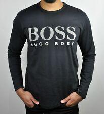 Hugo Boss Green Togn Logo Long Sleeves T-Shirt