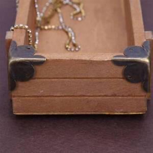 10pcs Furniture Decorative Metal Corners Jewelry Box Case Corner Protector
