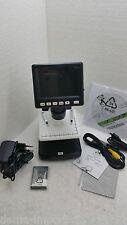 MICROSCOPIO PORTATILE ELETTRONICO LCD DIGITAL 5M-500X ESAMINATORE PC-TV NUOVO