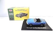 Atlas Triumph Spitfire MK IV (1974) Comme neuf BOXED 1:43
