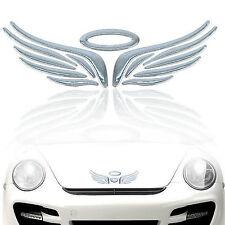 Auto Aufkleber Chrome Car Sticker Chrome Wings  variable Anbringung  13x4,5cm