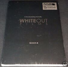 Whiteout Films SNOWBOARDING MOVIE SEASON 4 NEW Sealed DVD Devun Walsh Backstrom