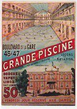 CP Postcard Affiche Tourisme ORLEANS GRANDE PISCINE Edit NUGERON R12