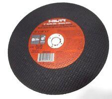 "Hilti 12"" Ductile Pipe Abrasive Blade Disc Ab-A2H 12"" x 1/8"" x 1"" 25846 Usa"