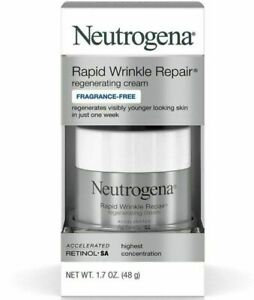Neutrogena Rapid Wrinkle Repair Fragrance-free Regenerating Cream 1.7 oz.