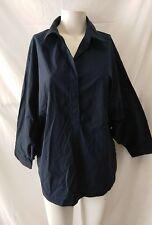 camicia donna cotone elasticizzato maxmara maniche a pipistrello taglia 48