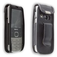 Nokia 6700 Classic Handytasche Ledertasche mit Gürtelclip + Sichtfenster