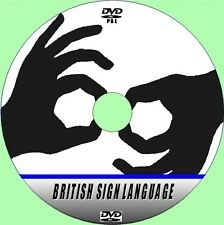 BRITISH SIGN LANGUAGE BSL EASY A to Z LEARNING AID HOW TO DO SIGNING VIDEO DVD