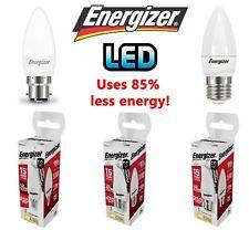 Energizer LED Candle Bulbs 3.4w = 25w 5.9W = 40W 6.2 WATT BC B22 B15 ES E27 E14