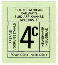 (I.B-CK) South Africa Railways : Newspaper Parcel Stamp 4c
