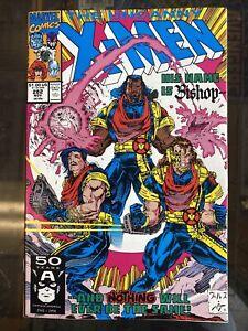Uncanny X-Men #282 Newsstand,Marvel Comics, 1st appearance Bishop NM