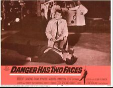 Danger Has Two Faces 11x14 Lobby Card #6
