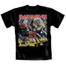 Iron Maiden Number Of The Beast Black T-Shirt Unisex Taille / Size XL ROCK OFF