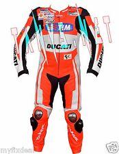 ANDREA DOVIZIOSO NEW DUCATI MOTORBIKE MOTORCYCLE MOTOGP RACING LEATHER SUIT